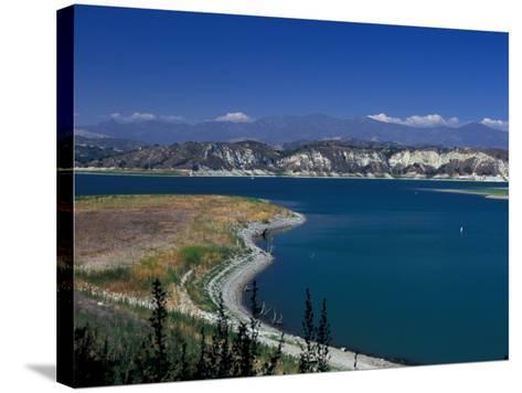 Big Bear Lake in The San Bernadino National Forest, California, USA-Julie Bendlin-Stretched Canvas Print