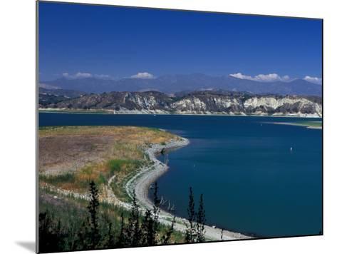 Big Bear Lake in The San Bernadino National Forest, California, USA-Julie Bendlin-Mounted Photographic Print