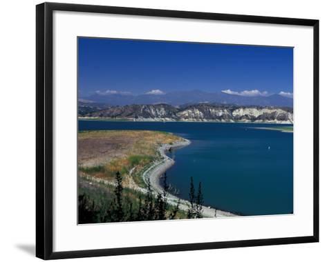 Big Bear Lake in The San Bernadino National Forest, California, USA-Julie Bendlin-Framed Art Print