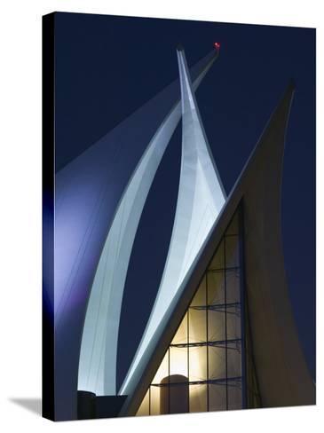 Dubai Creek Golf and Yacht Club, Dubai, United Arab Emirates-Walter Bibikow-Stretched Canvas Print