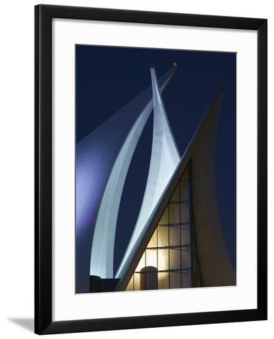 Dubai Creek Golf and Yacht Club, Dubai, United Arab Emirates-Walter Bibikow-Framed Art Print