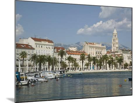 Split Harbor Late Afternoon, Central Dalmatia, Croatia-Walter Bibikow-Mounted Photographic Print
