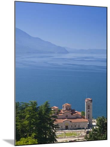 Sveti Kliment I Pantelejmon Church, Ohrid, Macedonia-Walter Bibikow-Mounted Photographic Print