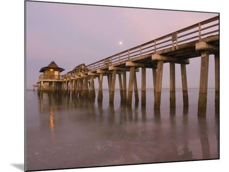 Naples Pier, Naples, Florida, USA-Walter Bibikow-Mounted Photographic Print