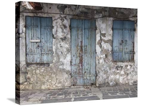 Chinatown, Port Louis, Mauritius-Walter Bibikow-Stretched Canvas Print
