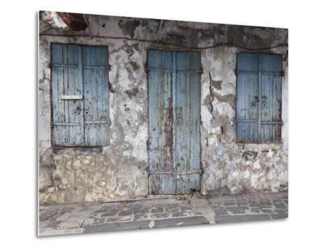 Chinatown, Port Louis, Mauritius-Walter Bibikow-Metal Print