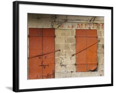 Chinatown, Port Louis, Mauritius-Walter Bibikow-Framed Art Print