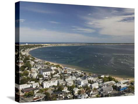 Curve of Cape Cod, Provincetown, Cape Cod, Massachusetts, USA-Walter Bibikow-Stretched Canvas Print