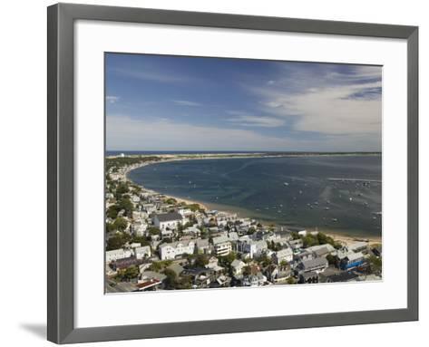 Curve of Cape Cod, Provincetown, Cape Cod, Massachusetts, USA-Walter Bibikow-Framed Art Print