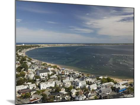 Curve of Cape Cod, Provincetown, Cape Cod, Massachusetts, USA-Walter Bibikow-Mounted Photographic Print