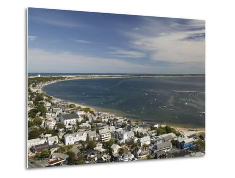 Curve of Cape Cod, Provincetown, Cape Cod, Massachusetts, USA-Walter Bibikow-Metal Print