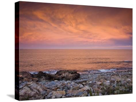 Bass Rocks, Gloucester, Cape Anne, Massachusetts, USA-Walter Bibikow-Stretched Canvas Print