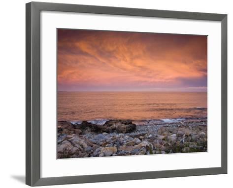 Bass Rocks, Gloucester, Cape Anne, Massachusetts, USA-Walter Bibikow-Framed Art Print