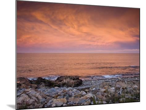 Bass Rocks, Gloucester, Cape Anne, Massachusetts, USA-Walter Bibikow-Mounted Photographic Print