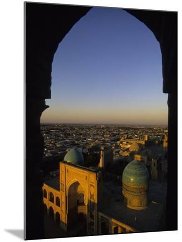 View of Kalyan Mosque,Bukhara, Uzbekistan-Ellen Clark-Mounted Photographic Print