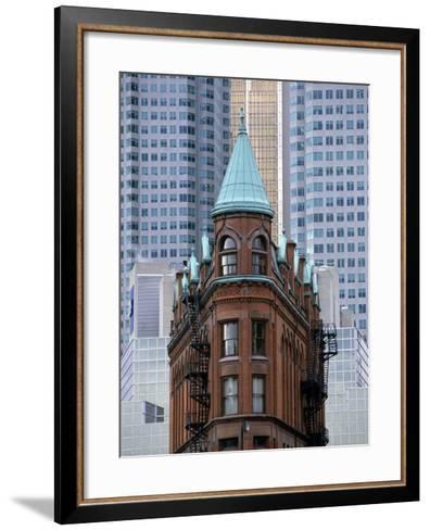Old Building, Toronto, Canada-Michael DeFreitas-Framed Art Print