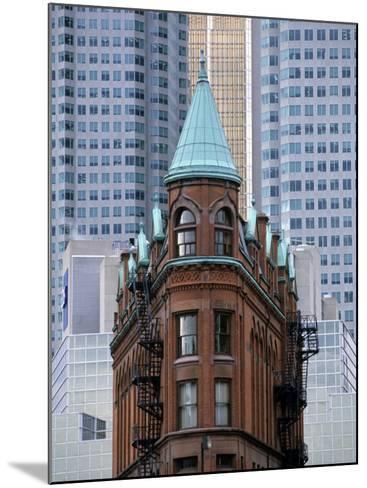 Old Building, Toronto, Canada-Michael DeFreitas-Mounted Photographic Print
