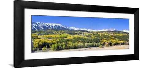 Ohio Pass and the Castels, Colorado, USA-Terry Eggers-Framed Art Print