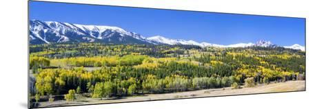 Ohio Pass and the Castels, Colorado, USA-Terry Eggers-Mounted Photographic Print