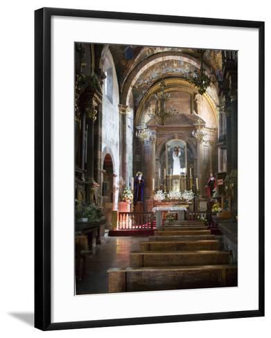 Sanctuary of Atotonilco, Atotonilco, Guanajuato State, Mexico-Julie Eggers-Framed Art Print