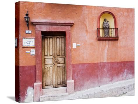 Casa De La Cuesta, San Miguel, Guanajuato State, Mexico-Julie Eggers-Stretched Canvas Print