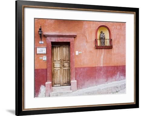 Casa De La Cuesta, San Miguel, Guanajuato State, Mexico-Julie Eggers-Framed Art Print