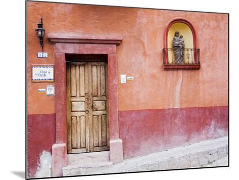 Casa De La Cuesta, San Miguel, Guanajuato State, Mexico-Julie Eggers-Mounted Photographic Print