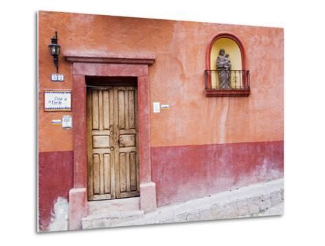 Casa De La Cuesta, San Miguel, Guanajuato State, Mexico-Julie Eggers-Metal Print
