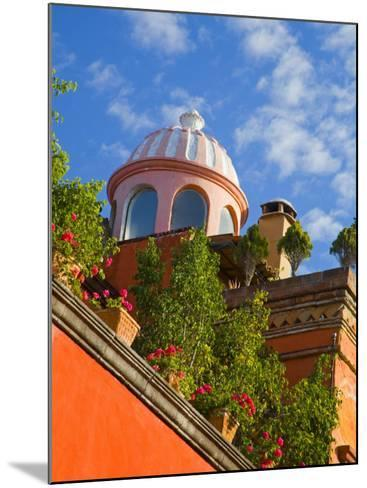 Dome of A Church, San Miguel De Allende, Guanajuato State, Mexico-Julie Eggers-Mounted Photographic Print