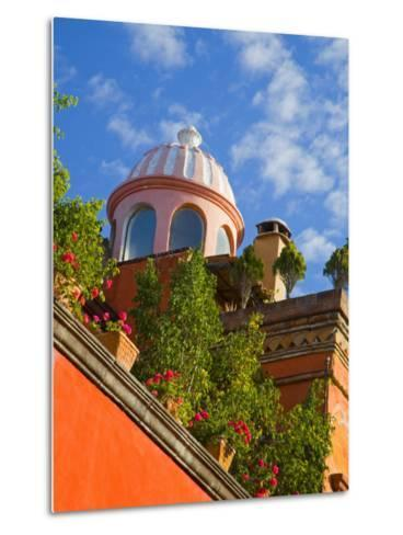 Dome of A Church, San Miguel De Allende, Guanajuato State, Mexico-Julie Eggers-Metal Print