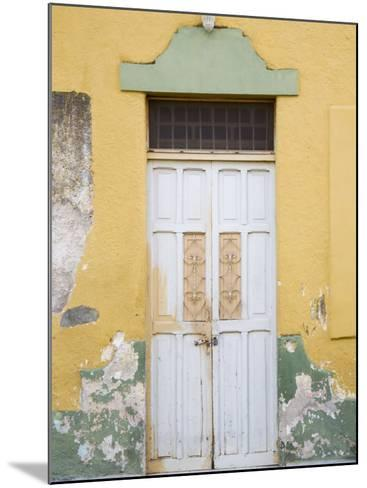Colorful Doors, Merida, Yucatan, Mexico-Julie Eggers-Mounted Photographic Print