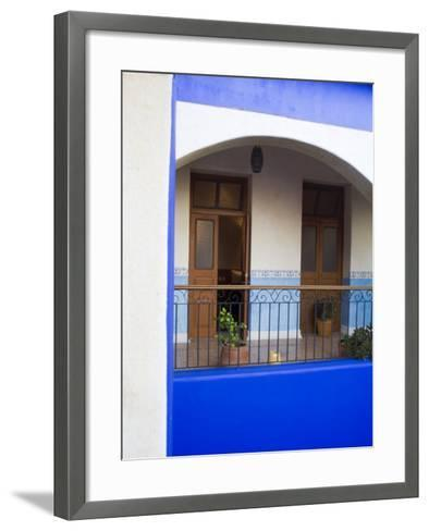 Hotel Mediomundo, Merida, Yucatan, Mexico-Julie Eggers-Framed Art Print