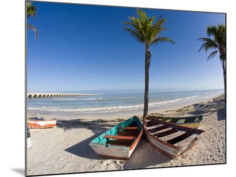 Beach of Progreso, Yucatan, Mexico-Julie Eggers-Mounted Photographic Print