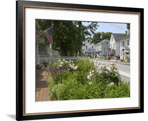 Shore Road, Ogunquit, Maine, USA-Lisa S^ Engelbrecht-Framed Art Print