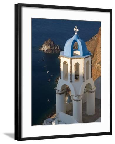 Town of Oia, Santorini, Greece-Darrell Gulin-Framed Art Print