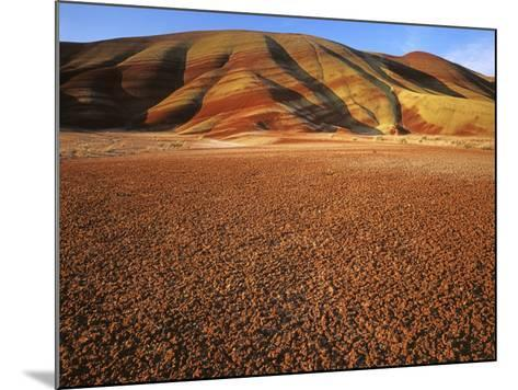Painted Hills, John Day Fossil Beds National Monument, Oregon, USA-Charles Gurche-Mounted Photographic Print