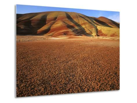Painted Hills, John Day Fossil Beds National Monument, Oregon, USA-Charles Gurche-Metal Print