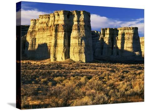 Pillars of Rome, Malheur County, Oregon, USA-Charles Gurche-Stretched Canvas Print