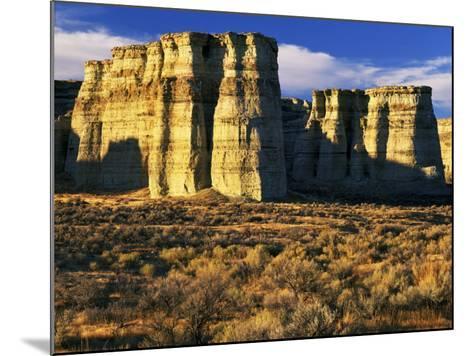 Pillars of Rome, Malheur County, Oregon, USA-Charles Gurche-Mounted Photographic Print