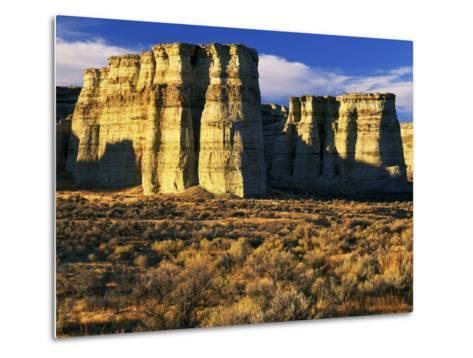 Pillars of Rome, Malheur County, Oregon, USA-Charles Gurche-Metal Print