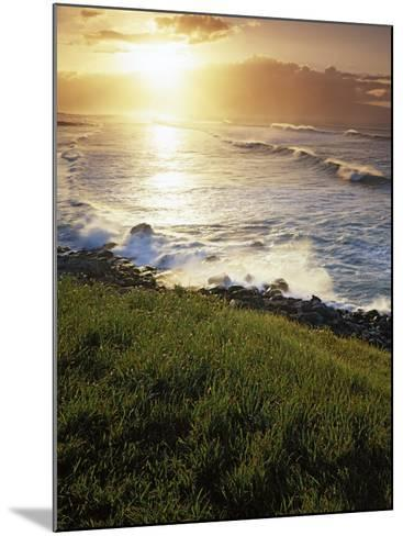 Sunset, Paia, Island of Maui, Hawaii, USA-Charles Gurche-Mounted Photographic Print