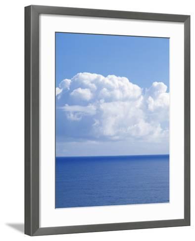 Pacific Ocean, Maui, Hawaii, USA-Charles Gurche-Framed Art Print