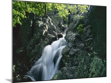 Mina Sauk Falls, Mark Twain National Forest, Missouri, USA-Charles Gurche-Mounted Photographic Print