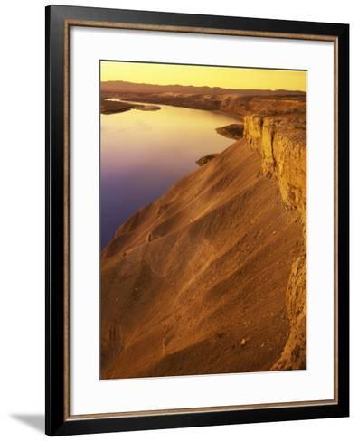 The Columbia River, Hanford Reach National Monument, Washington, USA-Charles Gurche-Framed Art Print