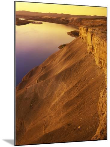 The Columbia River, Hanford Reach National Monument, Washington, USA-Charles Gurche-Mounted Photographic Print