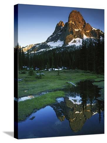 Cascades, Liberty Bell Mountain, Okanogan National Forest, Washington, USA-Charles Gurche-Stretched Canvas Print