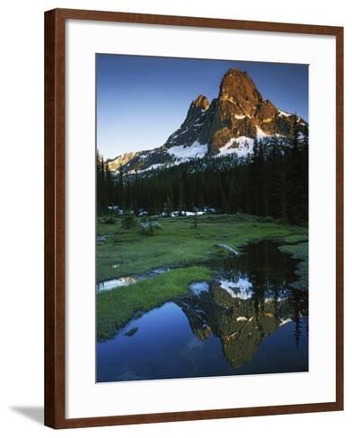 Cascades, Liberty Bell Mountain, Okanogan National Forest, Washington, USA-Charles Gurche-Framed Art Print