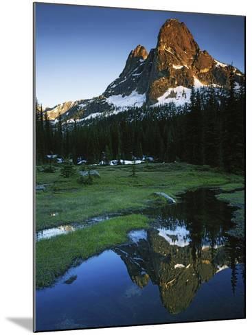 Cascades, Liberty Bell Mountain, Okanogan National Forest, Washington, USA-Charles Gurche-Mounted Photographic Print