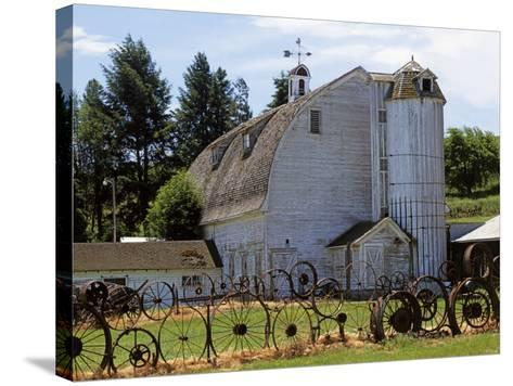 Barn, Pullman, Washington, USA-Charles Gurche-Stretched Canvas Print