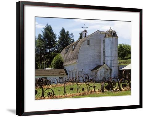 Barn, Pullman, Washington, USA-Charles Gurche-Framed Art Print